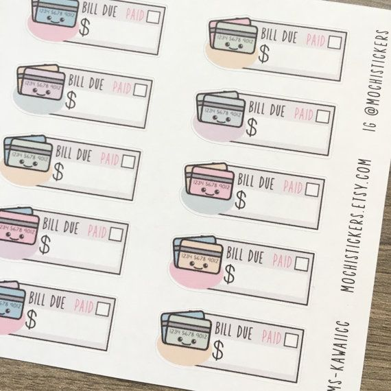 Hey, I found this really awesome Etsy listing at https://www.etsy.com/listing/260157277/kawaii-credit-card-planner-stickers-ms