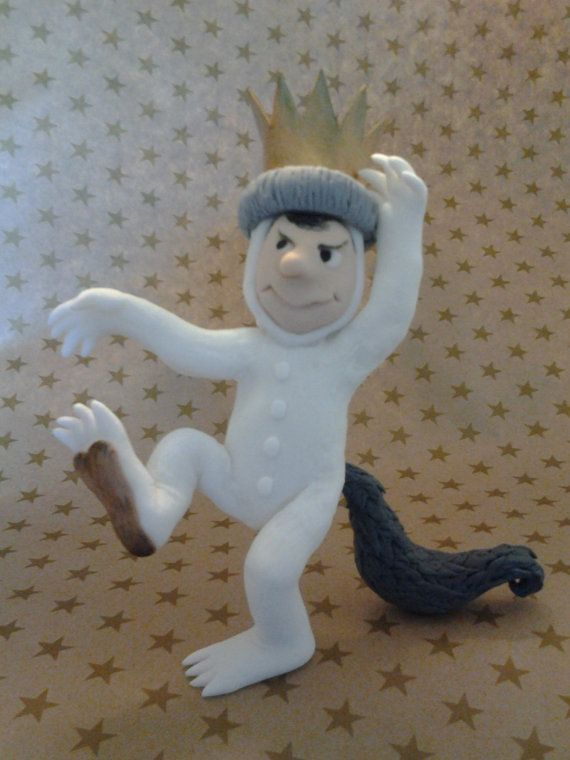 Max From Quot Where The Wild Things Are Quot Fondant Cake Topper