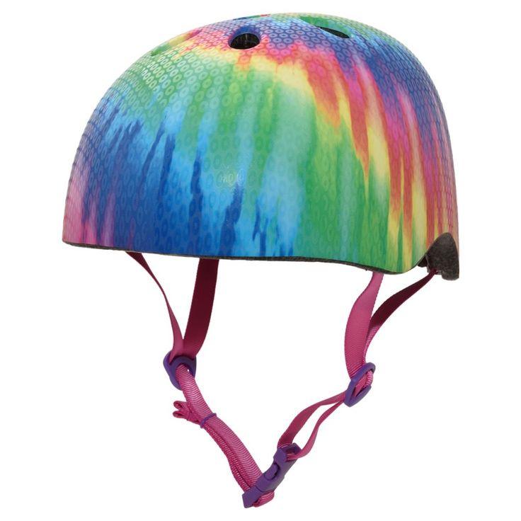 Krash! Free Spirit Tye Dye Youth Helmet 8+