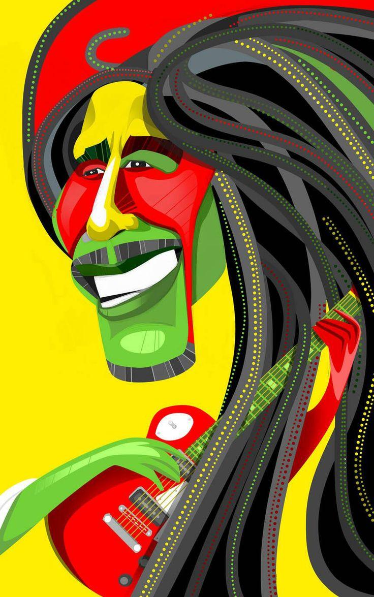 Bob Marley by EDO