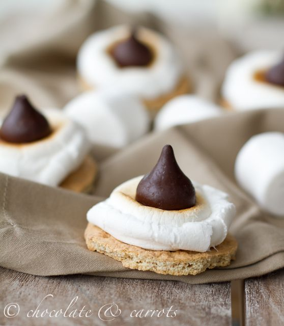 Broiled S'mores Circles