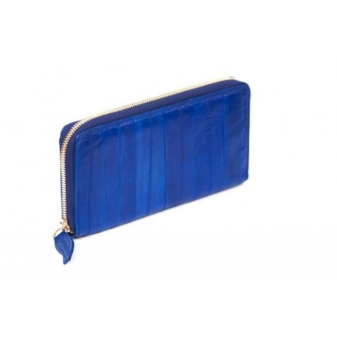 Makki Large Zip wallet - Electric Blue