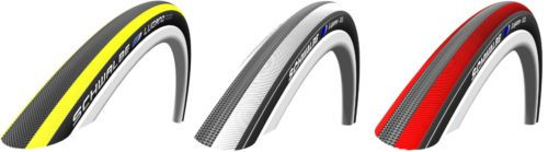 SCHWALBE-LUGANO-700-x-23-700C-Road-Bike-Tyre-Tyres-Red-White-Yellow-Tubes-G