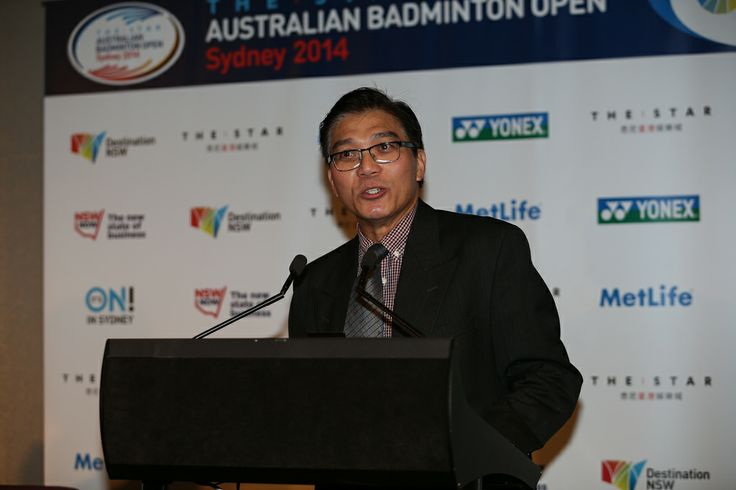 Tournament Director, Mr Loke Poh Wong giving his speech at the event launch.