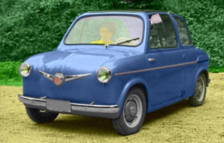 1956 Steyr-Puch U3 Microcar with a 500cc four-Stroke engine
