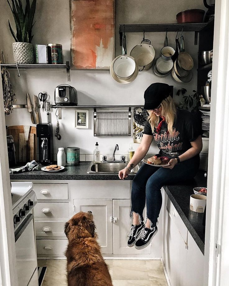 "1,577 Likes, 28 Comments - Brittany & Stella (@brittanyshmyr) on Instagram: ""Every meal you make, every bite you take, I'll be watching you🐶. ----And I'll probably share💁🏼🍩"""