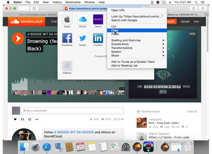 Free download Soundcloud Downloader mac internet. With SCD 2 you can download any song from soundcloud directly to your mac. Scroll down to see all the features! Soundcloud Downloader will allow you to download any audio file...