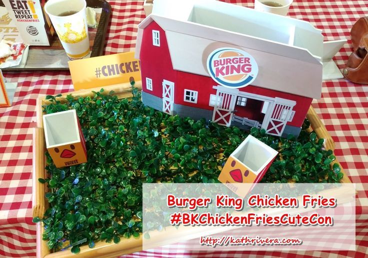 Burger King Chicken Fries Cute Con | Dear Kitty Kittie Kath- Top Beauty and Lifestyle Blogger with Style and Mommy Blog on the side
