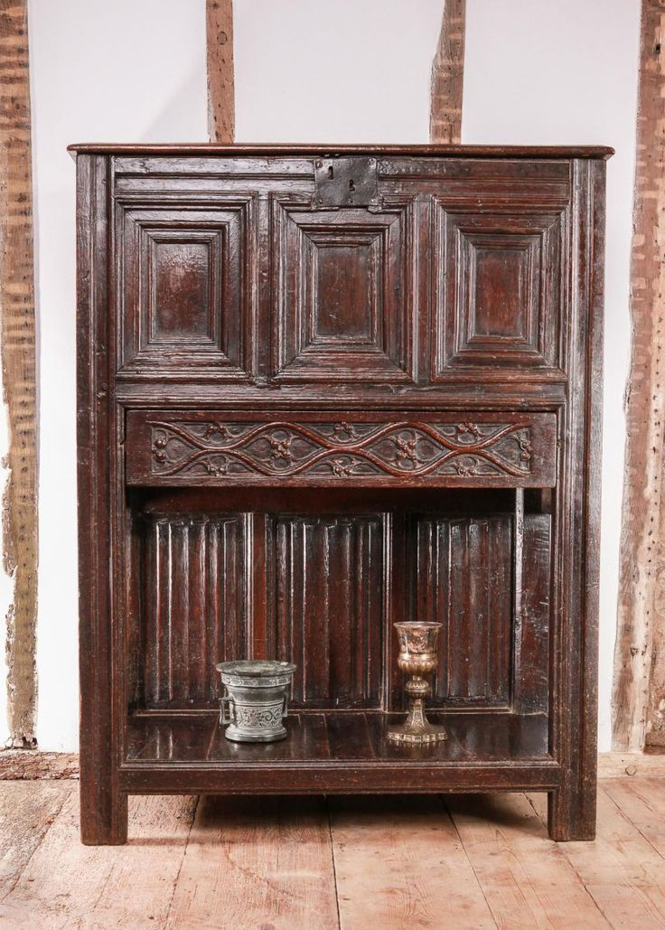 Henry Viii Oak Chest Hutch Circa 1530 1540
