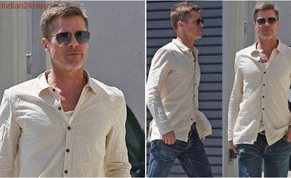 Brad Pitt looks shockingly thin. Is divorce from Angelina Jolie taking a toll on him?