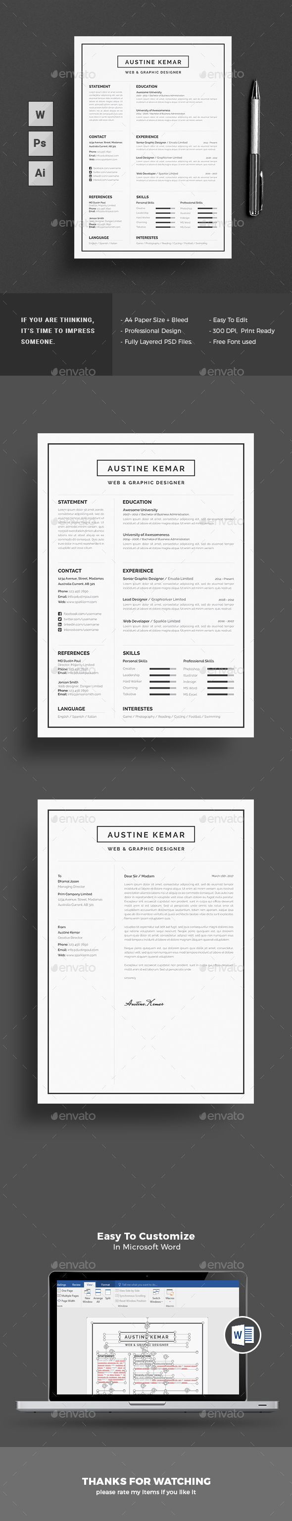 Resume 100 best CV images on Pinterest