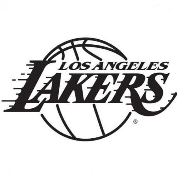 Los Angeles Lakers Basketball Car Window Decal Sticker