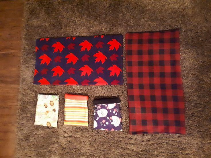 Cage liners and sleep sacks for my hedgehog customer