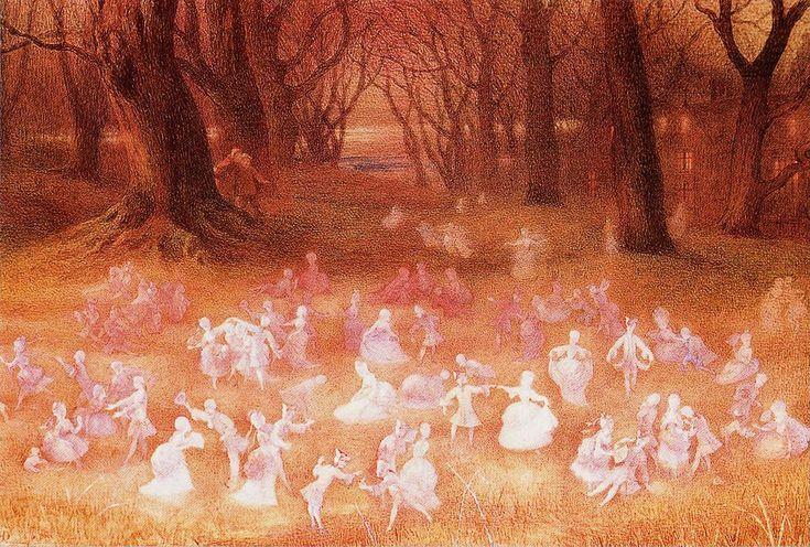 "Richard Doyle-""The Haunted Park"" | Flickr - Photo Sharing!"