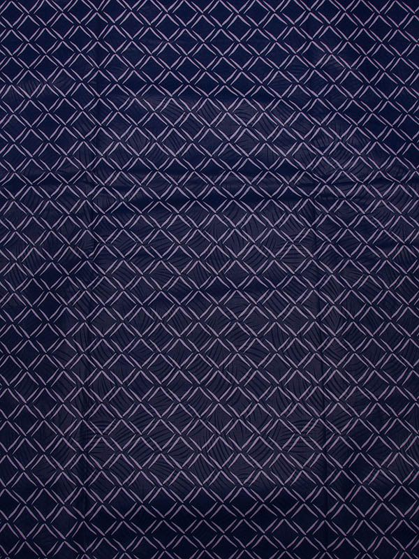Exclusive African Fabric Real Wax Purple Chequer Ankara Fabric Online rw15127