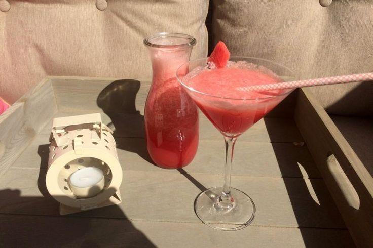 Watermeloen limonade
