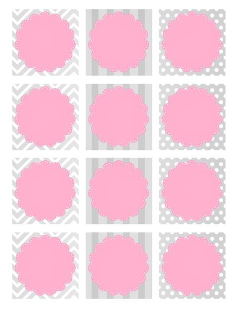 Best 25 baby shower tags ideas on pinterest baby showers baby baby girl shower free printables negle Images