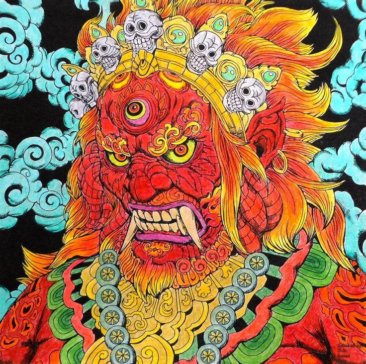 Nicholas F. Chandrawienata - Fantasia Mahakala  Coloured with Marco Raffine