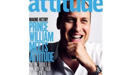 Ο πρίγκιπας Ουίλιαμ στο εξώφυλλο του δημοφιλέστερου gay περιοδικού της Βρετανίας