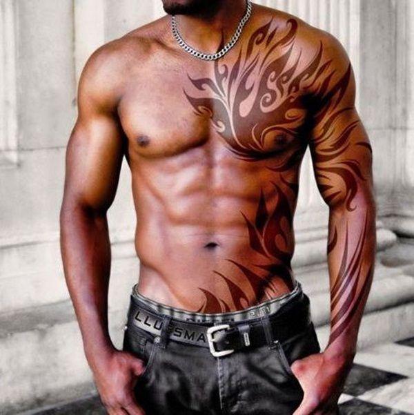 brown-ink-tattoo-44.jpg (600×601)