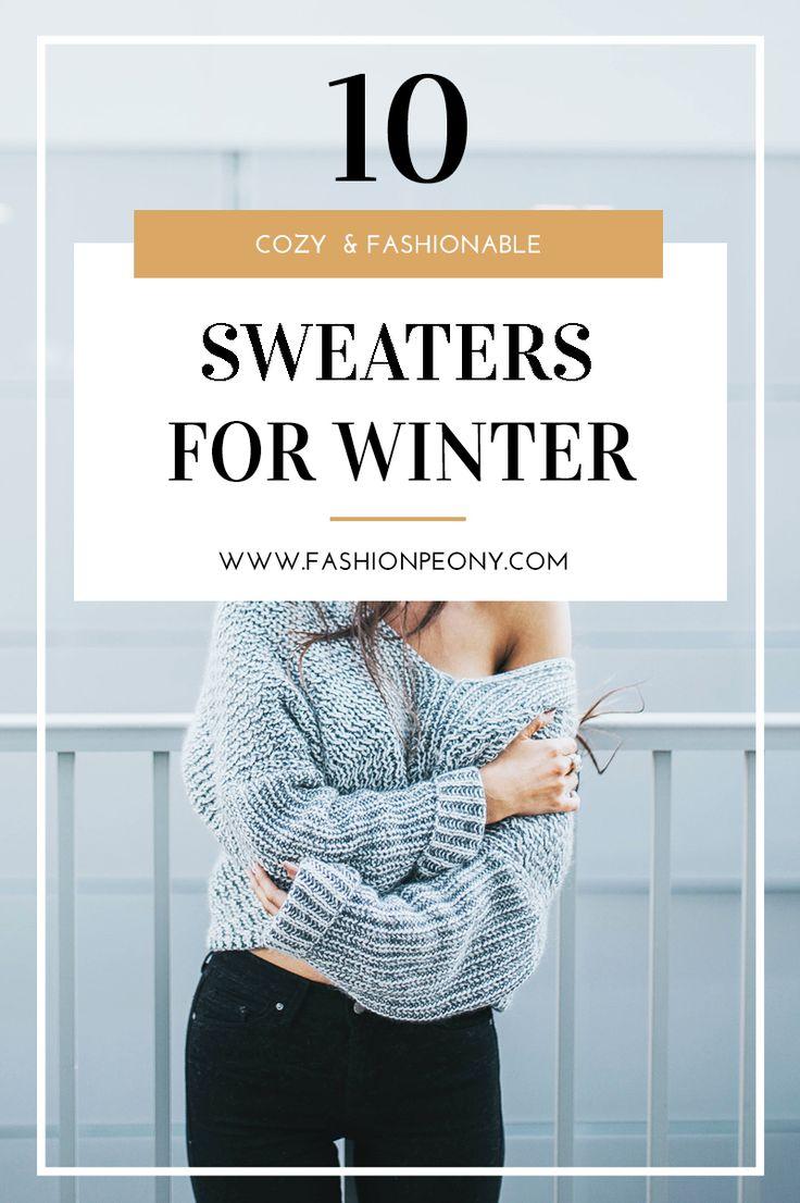 Winter is getting closer! Some sweaters to have in your wardrobe for winter! | L'inverno e il periodo natalizio si avvicinano! Ecco qui 10 proposte per maglioni invernali da comprare questa stagione! | The fashion peony blog