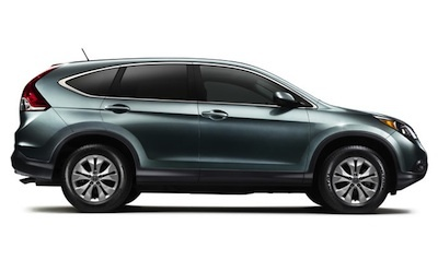The sleek look of the CR-V is also specifically aerodynamically designed for even more fuel-efficiency.