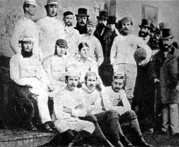 I primi calciatori della storia del calcio: Sheffield Fc