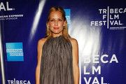"""Actress Emma Caulfield attends the premiere of """"TiMER"""" during the 2009 Tribeca Film Festival at SVA Theater on April 26, 2009 in New York City.  (Photo by Rob Loud/Getty Images for Tribeca Film Festival) *** Local Caption *** Emma Caulfield"""