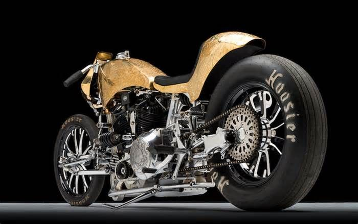 """Bike of the Week: Custom Works Zon's """"Zonnegodin"""" The Zonnegodin was completed about two-years ago, and has since been invited to high-profile motorcycle shows all over the world including the 2017 Joints Custom Bike Show, 2017 Super Weekend, 2016 HotRod Custom Show, and the 2016 Skin and Bones Invitational."""