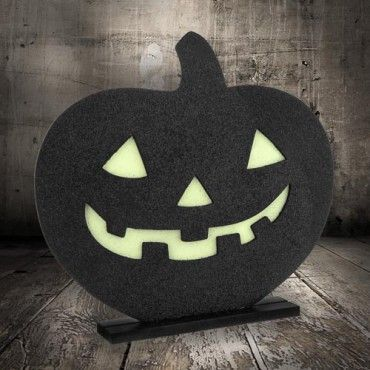 just part of our vast amazing halloween decorations range this glow in the dark halloween pumpkin decoration is a great way to add some atmosphere day or