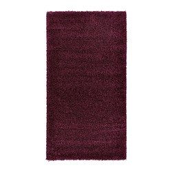 IKEA - ÅDUM, Tappeto, pelo lungo, 80x150 cm, , Il pelo fitto e spesso attutisce i suoni e offre una superficie morbida su cui camminare.Il tappeto è durevole, resistente alle macchie e di facile manutenzione poiché è in fibre sintetiche.Il pelo lungo ti permette di unire diversi tappeti senza che le giunzioni siano visibili.