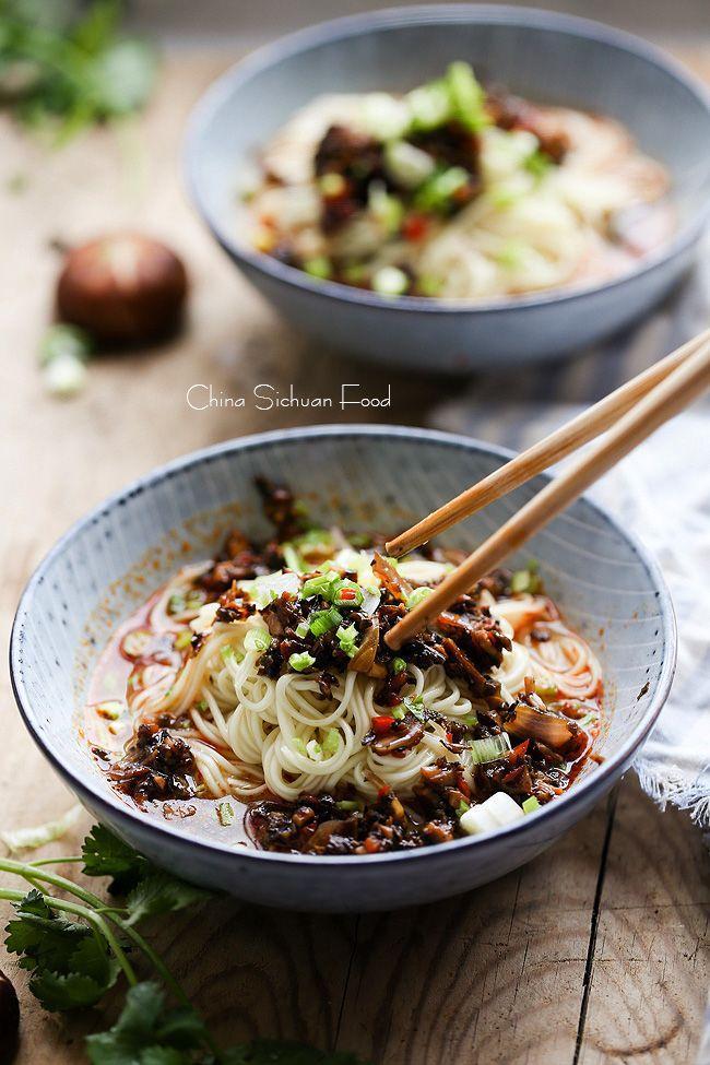 Vegan Dan Dan Noodles – China Sichuan Food