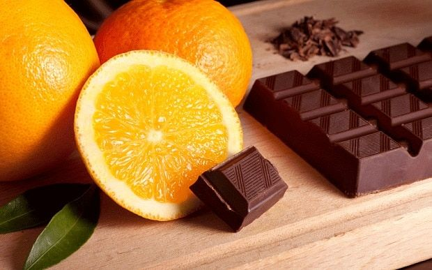 Chocolate and oranges make an easy gluten-free dessert