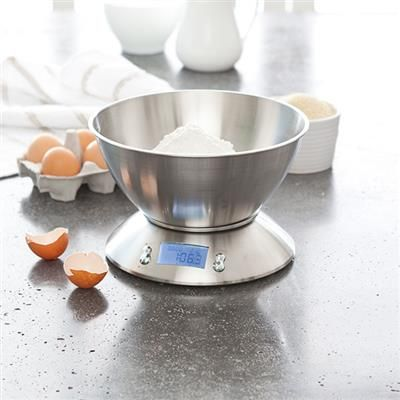 Image for Stainless Steel Kitchen Scale with Bowl from Kmart. 8 best Kitchen images on Pinterest