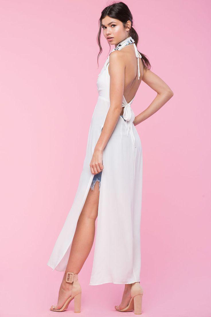 Savannah Slit Duster ***Style Idea: Cut up old dresses to create look