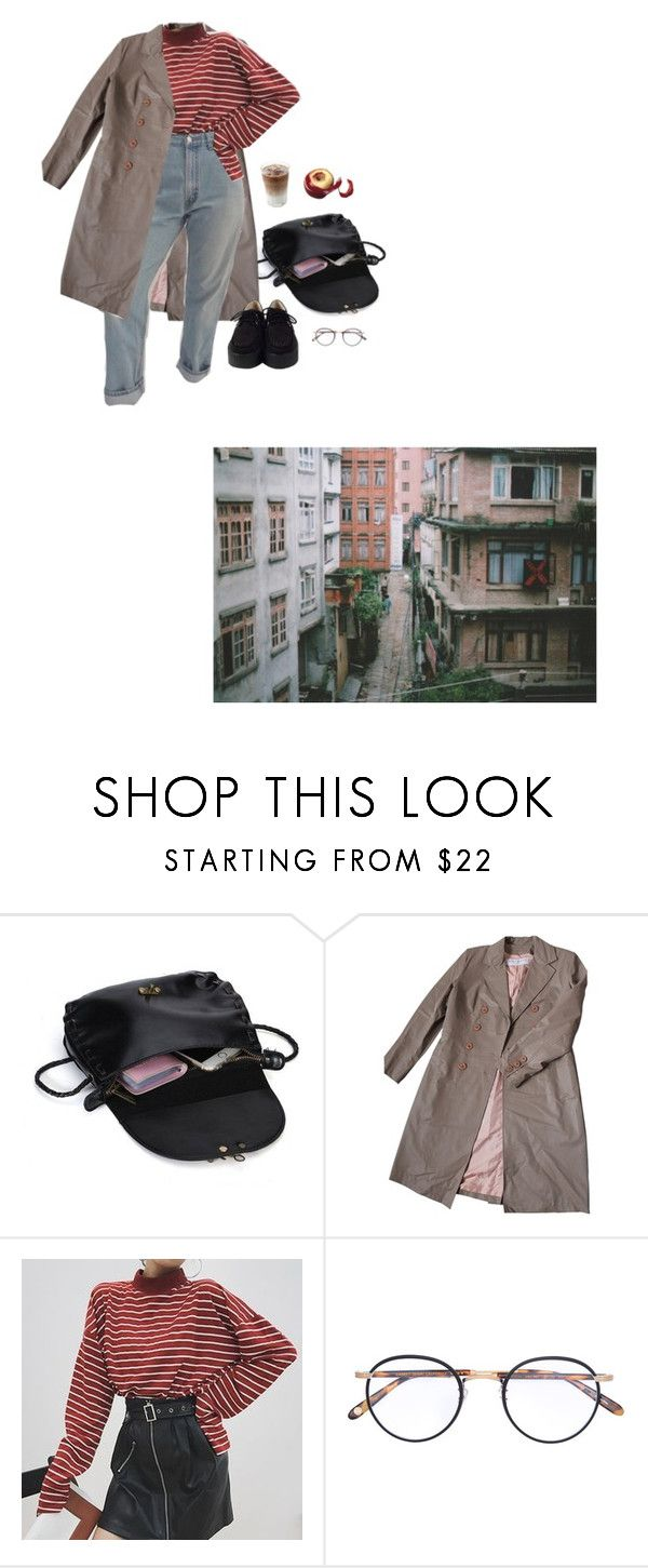 """""""alleys"""" by paper-freckles ❤ liked on Polyvore featuring Nina Ricci and Garrett Leight"""