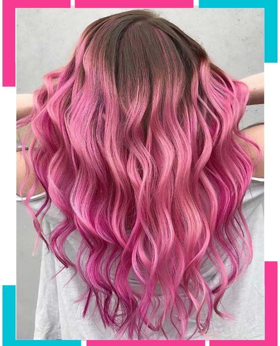 Haarfarben rosa - Beliebte Frisuren 2020