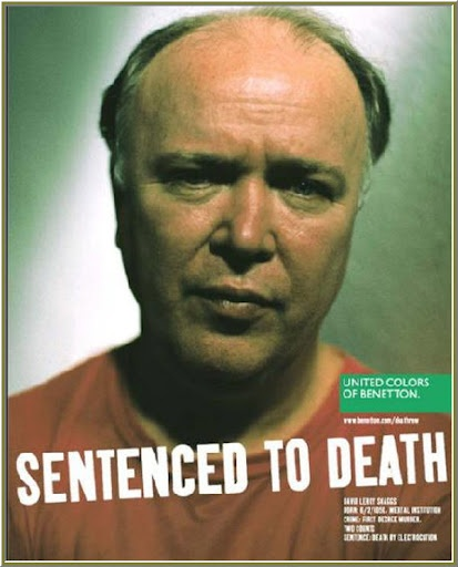 Oliviero Toscani - Campaña Sentenced to Death, para Benetton