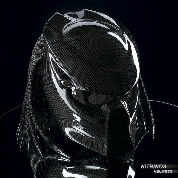carbon helmet predator