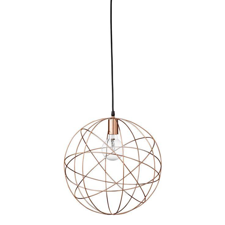 Bloomingville - Pendant Lampe - Messing | bekko.dk