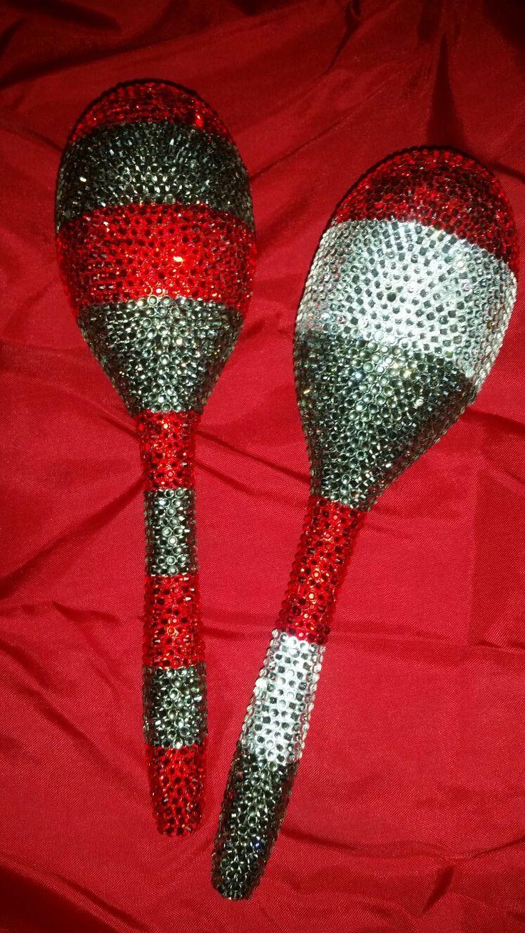 #Orisha #orisa #eshu #elegua #elegba #maraca #maraca #rattle #blessed #yoruba #santeria #ifa  #lucumi #ceremony #Ocha #ase #ashe' custom designs https://www.etsy.com/shop/DesignsbyLWhite