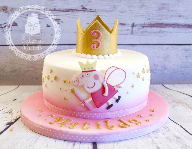 Incredible 27 Creative Image Of Bilo Birthday Cakes With Images Peppa Personalised Birthday Cards Veneteletsinfo