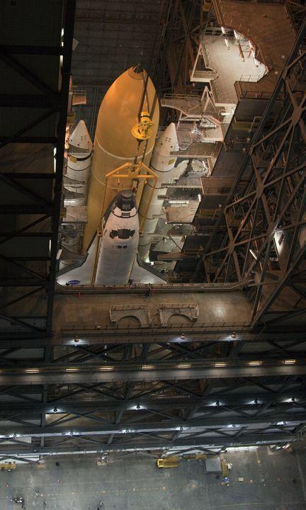010.)  Watch a shuttle launch.