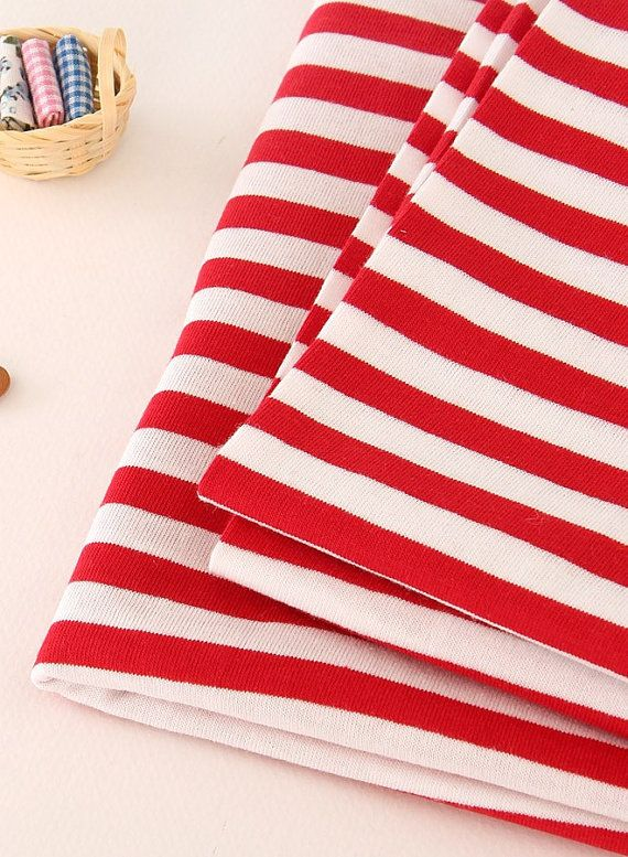 Red Stripe cotone a maglia 70 57755 ampia dal di landofoh