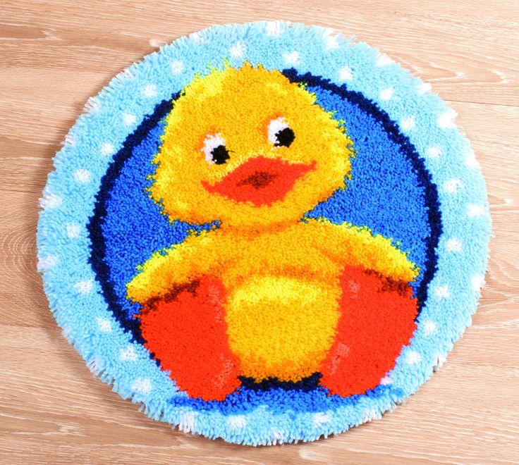 Vervaco Latch Hook Rug Kit - Duck | eBay