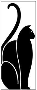 art nouveau cats - Buscar con Google