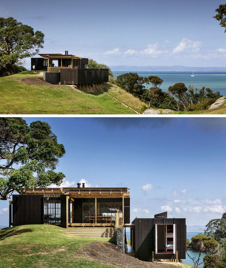 95 best new zealand architecture images on pinterest for Modern new zealand homes