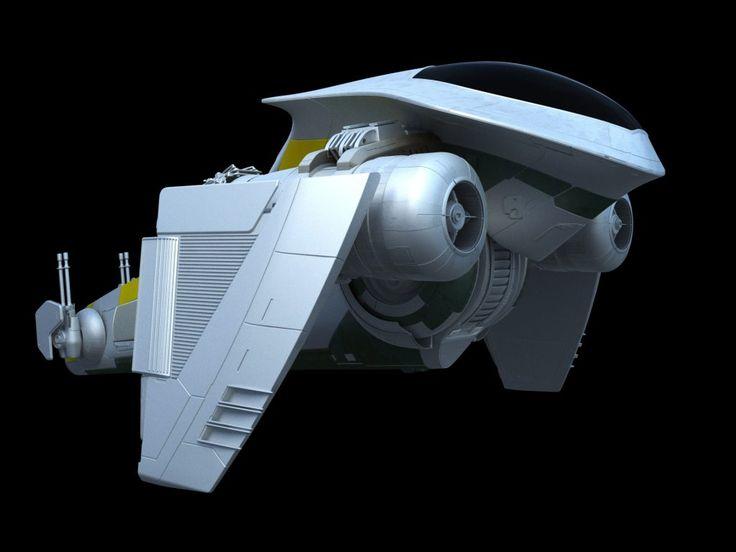 Beskad Mandalorian Starfighter – Fractalsponge.net