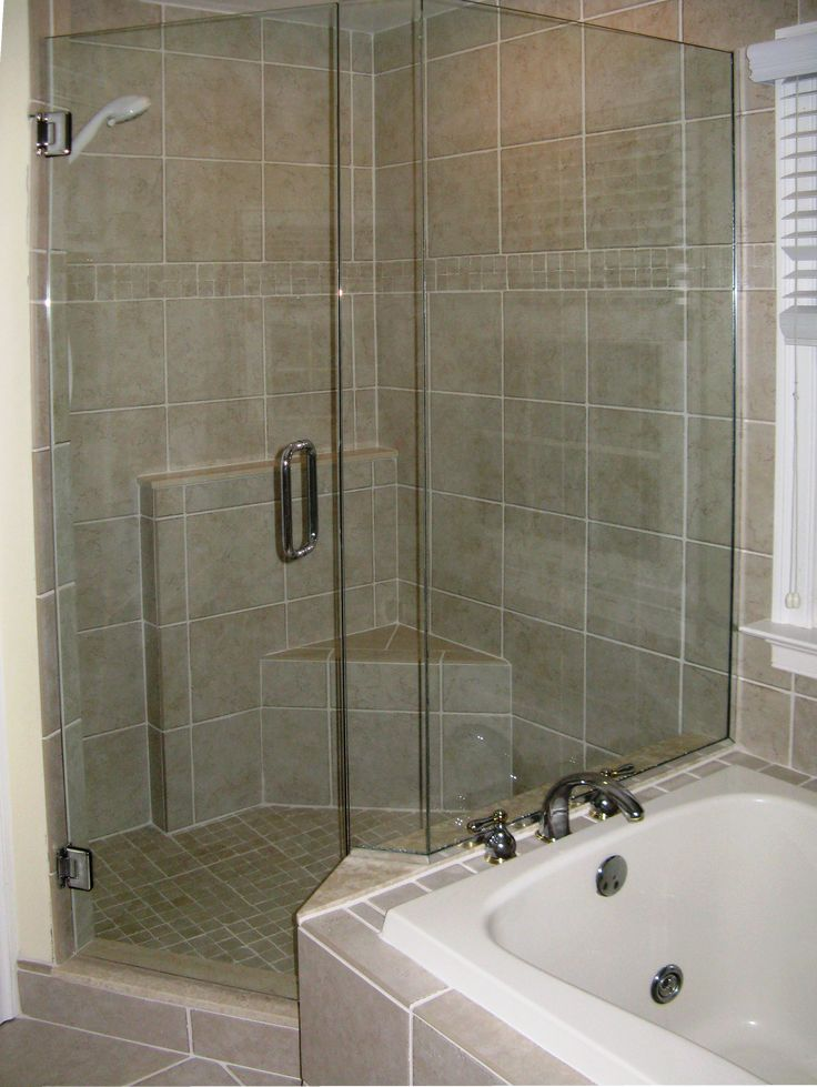 Charming glass shower stall kits plus corner shower seat and tile silver  handle for bathroom decorationBest 25  Shower stall kits ideas on Pinterest   Shower wall kits  . Corner Shower Stalls With Built In Seat. Home Design Ideas