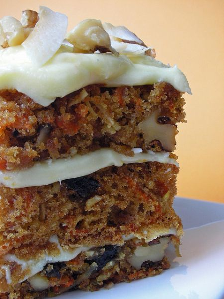 Triple-Layer Carrot Cake {Starbucks Copycat} ... #recipe #mother's day #holiday